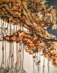 Renversement  Acrylique sur toile 70x90cm 2016