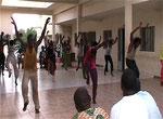 Répétition Troupe du District de Bamako