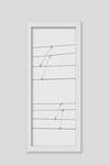 Martina Lückener  Linien 1  2014 80x30cm Zeichnung