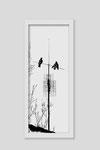 Martina Lückener  Kreuz 1  2014 80x30cm Zeichnung