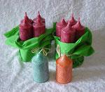 Advents-Kerzen und Minikerzen