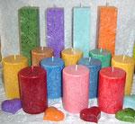 Kristall-Kerzen