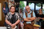 Die Veranstalter Beli und Alfred Hajek