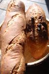 お施主様が親機になったパンです。電気のオーブンとは末で違う深い味わいになりました。