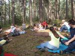 Warten auf die Wald/Sommermassage