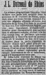 Le Siècle, 9 août 1894