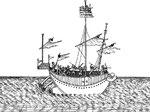 Frégate de poste. Fort en usage dans le Fou-kien. On cloue des bandes de bois de bambou sur les côtés, pour qu'il résiste à la lame. Il tire six pieds d'eau. Il va par tout temps. On s'en sert contre les pirates, les voleurs, & pour porter des nouvelles.