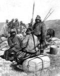 Conversation avec les premiers Tibétains rencontrés