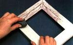 Dettaglio della lavorazione in decapè