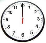 It's twelve o'clock