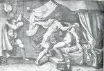 Giorgio Ghisi nach Giulio Romanos Fresco in Mantua (seitenverkehrt)