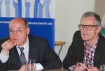 Gregor Gysi, DIE LINKE und Igor Wolansky, Landesarmutskonferenz Berlin