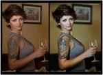 retouching and portrait photography stylization