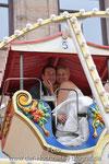 Brautpaar im Riesenrad