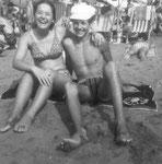 Caorle - Giovanna und ich 1969