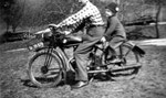 Mein Vater mit Fanzerl 1951