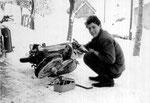 Franzerl mit Puch DS 50 im Jahre 1966