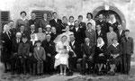 Hochzeit von Tante Gretl und Franzl 1961