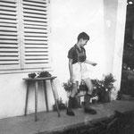 Beim Orell mit neuer Lederhose 1964