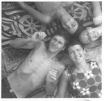 Caorle -  mit italienischen Freunden 1969