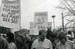 © Eva Kowalski, www.wir-waren-so-frei.de / Demo Berlin Alexanderplatz 4.11.1989
