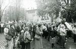 Demo in Potsam 4.11.1989, © Eva Kowalski, www.wir-waren-so-frei.de