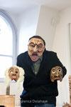Alaric Chagnard, créateur de masques