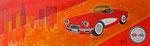 Corvette 2013 Acryl auf Leinwand