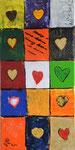 Love is in the air 2016 Acryl auf Leinwand 70 x 50 cm (verkauft)