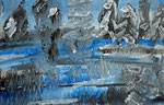 Winter 2013 Acryl auf Papier