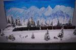 Winter in den Rockys 2016 Diorama