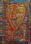 Cour d or 2015 Acryl auf Leinwand (verkauft)