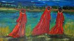 Oase 2011 Acryl auf Leinwand (verkauft)
