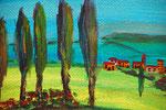 Toscana 2013 Acryl auf Papier