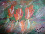Flower 2010  Acryl auf Leinwand (verkauft)
