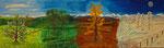 4 Jahreszeiten am Napf 2014 Acryl auf Leinwand (verkauft)