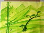 Green 2016 Acryl auf Papier Fr. 100.00