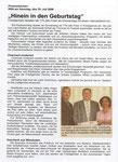 Chronik - Presseartikel 775 Jahrfeier
