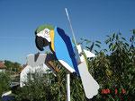 BELYWIND Papagei blau