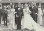 Yerres, 17 juin 1972 - Jean-Luc Fachaux et Annie Dussoulier