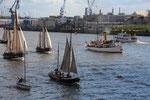 57 260915 Parade Traditionsschiffe Övelgönne
