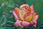 Роза акрилом