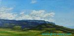 Облака и горы(продолжение). Севастополь. 20х40 см