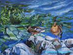 Коломенские утки. 30х40 см
