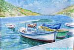 Лодки в Балаклаве