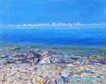 Море, тишина. 40х50 см