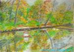 Осенний пруд в Сокольниках