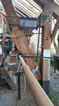 Chantier du 5ème vent reconstruction d'un gabarot (c) Arnaud RECHARD