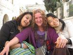 左から、パレスチナ、イギリス、日本(DAYA)