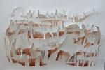 Amerikanische Wüstenlandschaft, 130x80 cm, 2014